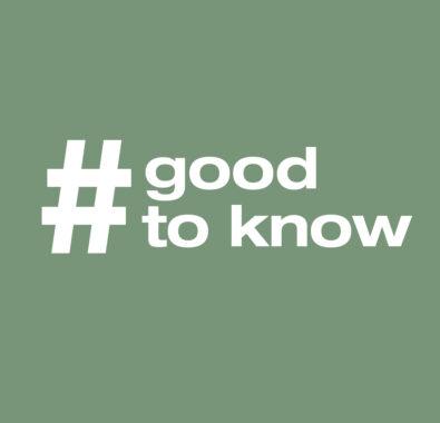 Gut zu wissen -